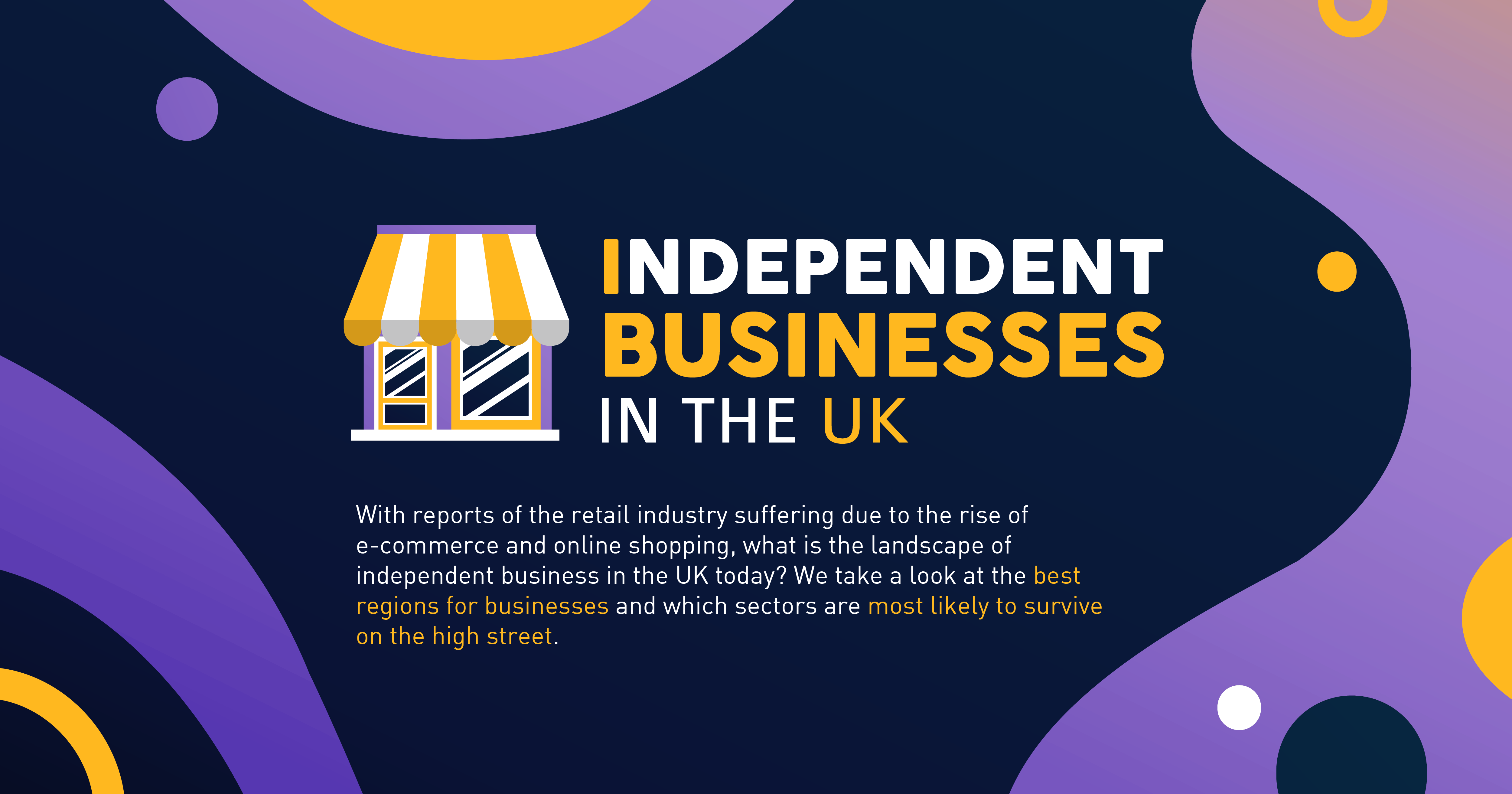 Independent Businesses Stats In The UK Header