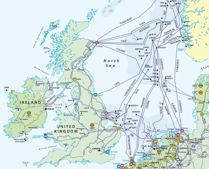UK gas network