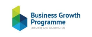 Business Growth Programme Cheshire and Warrington logo