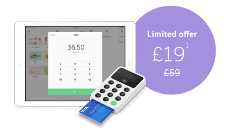 £19 iZettle Card Reader Offer*